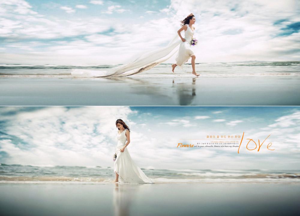 北戴河海景婚纱摄影,北戴河海景婚纱照 客片欣赏:梦之